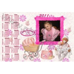 Annabell kalendoriaus maketas