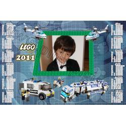 Lego police kalendoriaus maketas