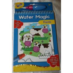 Galt vandens spalvinimo knygutė
