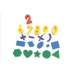 Elc kempinėlės skaičiai ir formos