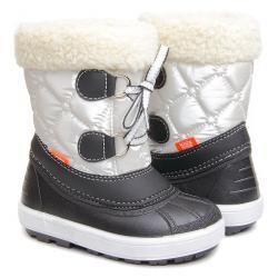 Demar žieminiai furry balti batai
