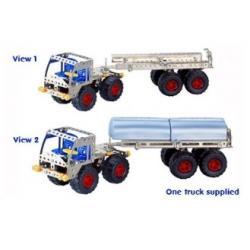 Konstruktorius Sunkvežimis su kranu
