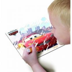 Disney Cars piešimas vandenių