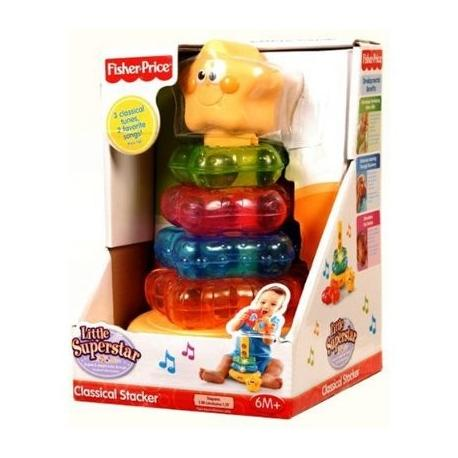 Fisher Price muzikinė piramidė