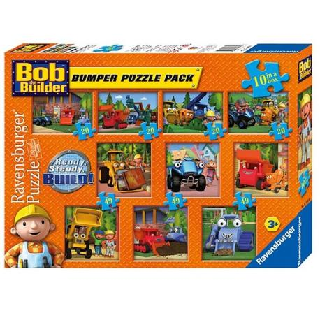 Bob builder mega dėlionių komplektas