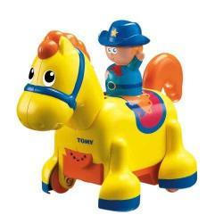 TOMY arkliukas su kaubojumi